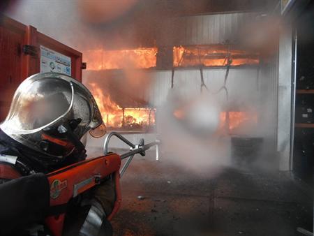 Fire Fighting Robot Parosha Cheatah Gosafer